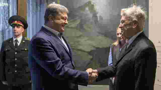 Порошенко подякував Девіду Лінчу за відкриття благодійного фонду в Україні