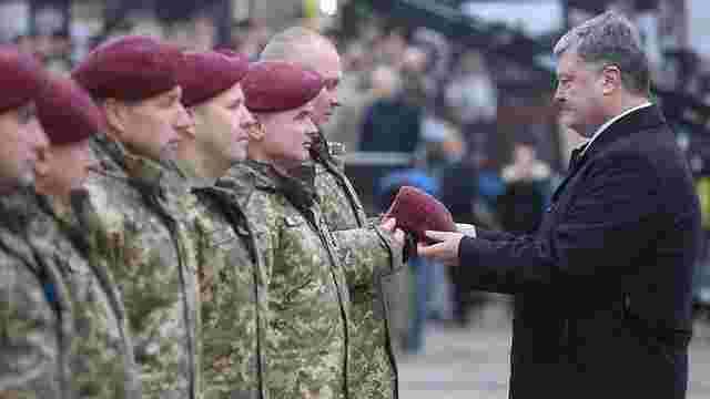 Українські десантні війська отримали нову назву і форму