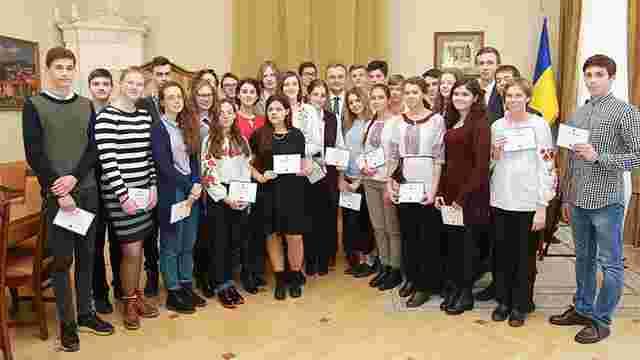 Львівська міськрада вручила найкращим учням міста по ₴10 тис.
