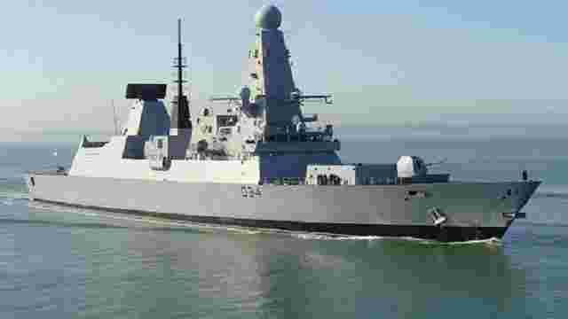 У Перській затоці зламався один із найсучасніших есмінців Великої Британії