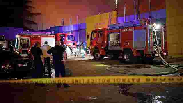Під час пожежі у п'ятизірковому готелі в Грузії загинули 11 людей