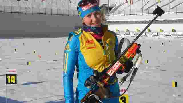 Українка Юлія Джима завоювала бронзу на першому етапі Кубка світу з біатлону