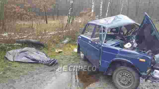 Біля Києва сталася смертельна ДТП за участю п'яти автомобілів