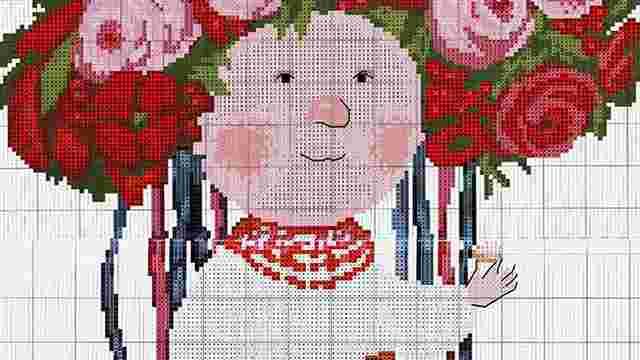 Євгенія Гапчинська відсудила ₴136 тис. за використання її картини у схемі для вишивки