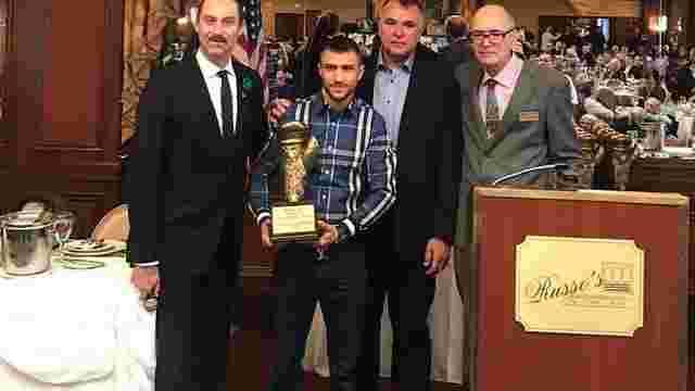 Український боксер Василь Ломаченко отримав нагороду імені Мухаммеда Алі