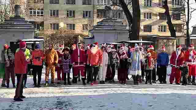 У львівському парку організують святковий забіг Санта-Клаусів