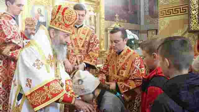 Митрополит Онуфрій хоче особисто хрестити кожну п'яту дитину в сім'ях священиків УПЦ (МП)