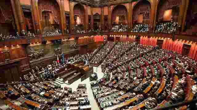 Президент Італії розпустив парламент республіки