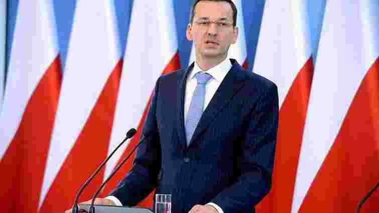 Польща спробує відмовити країни ЄС від введення санкцій
