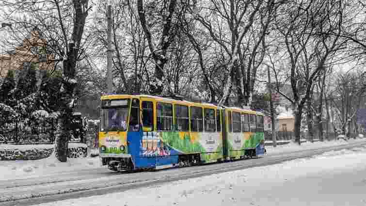 У львівських трамваях на різдвяні свята звучатимуть колядки