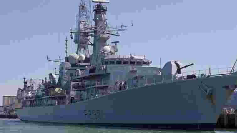 ВМС Великобританії відправили фрегат на перехоплення чотирьох кораблів РФ у протоці Ла Манш
