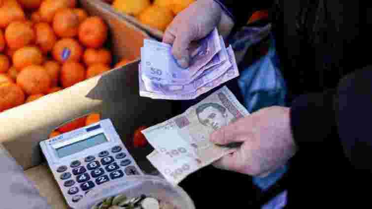 Інфляція в Україні в 2017 році прискорилася до 13,7%