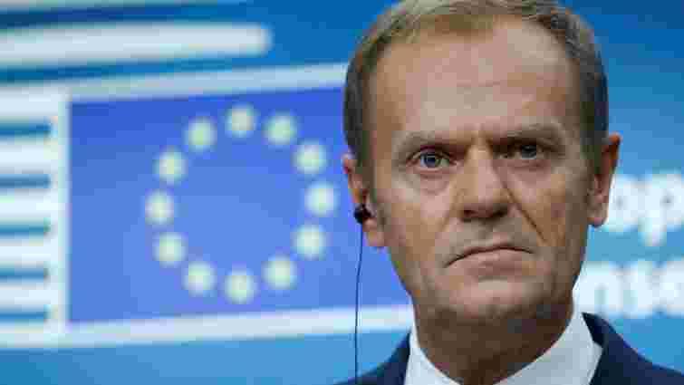Голова Євроради Дональд Туск не заперечив можливості виходу Польщі з ЄС