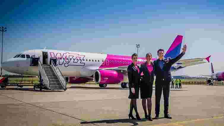 Wizz Air збільшив перевезення на українських рейсах на 64%