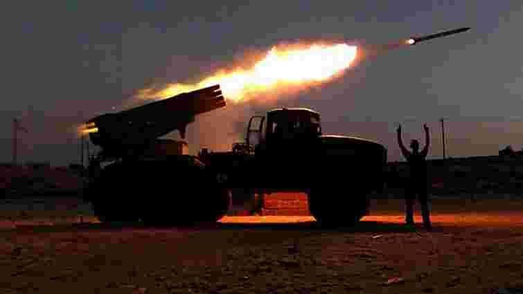Бойовики на Донбасі вперше від початку новорічного перемир'я застосували артилерію