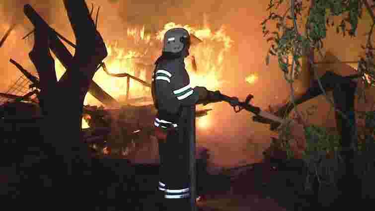 Унаслідок двох пожеж на Львівщині за минулу добу загинули троє людей