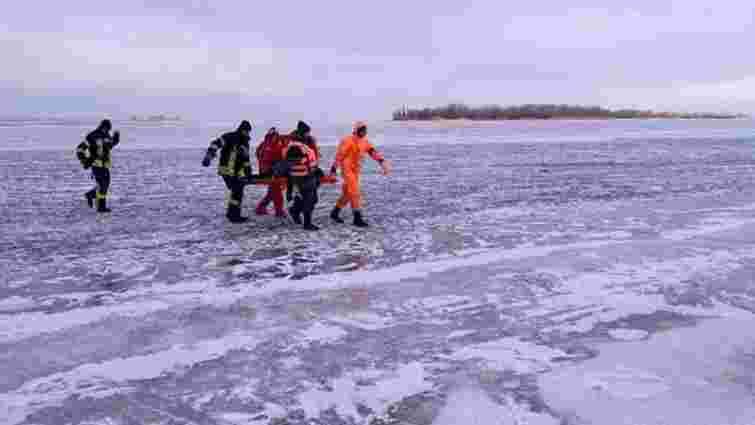 У Черкасах загинув підліток, який провалився під лід на Дніпрі