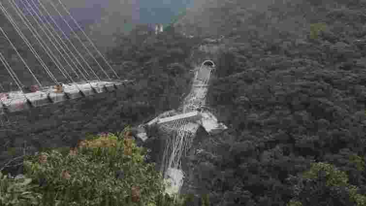 Щонайменше десятеро людей загинули через обвал мосту в Колумбії