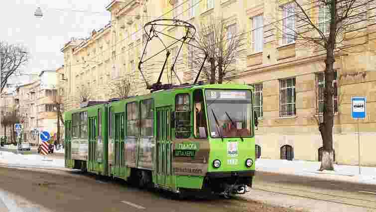 «Львівелектротранс» продав рекламні площі на трамваях на майже ₴14 млн