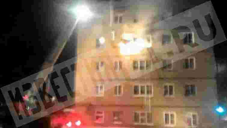 В Росії через пожежу в сімейному гуртожитку загинули п'ятеро людей