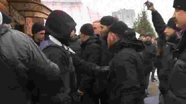 Під час пікету церкви УПЦ МП у Львові виникли сутички