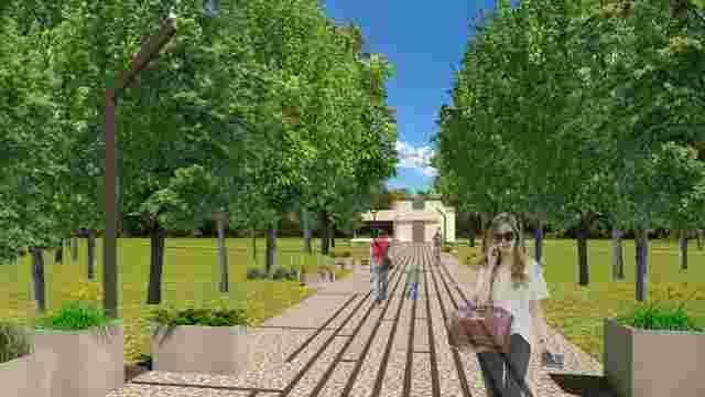 У Львові обговорили проект облаштування території довкола кіноцентру у парку «Горіховий гай»