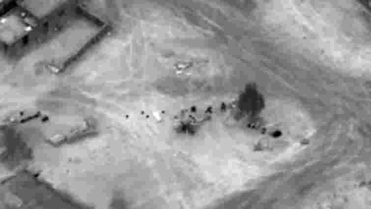 ЗМІ опублікували відео авіаудару США в Сирії, внаслідок якого загинули російські найманці