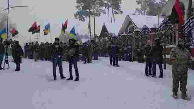 Активісти партії Саакашвілі пікетували маєток генпрокурора Луценка