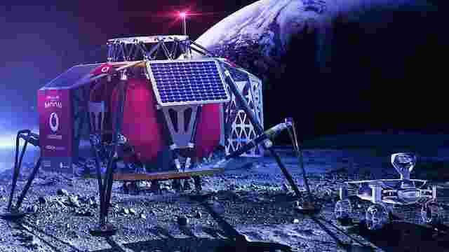 Vodafone i Nokia збираються розгорнути мережу 4G на Місяці