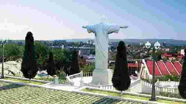 У Трускавці відремонтують дорогу, що веде до 12-метрової статуї Ісуса Христа