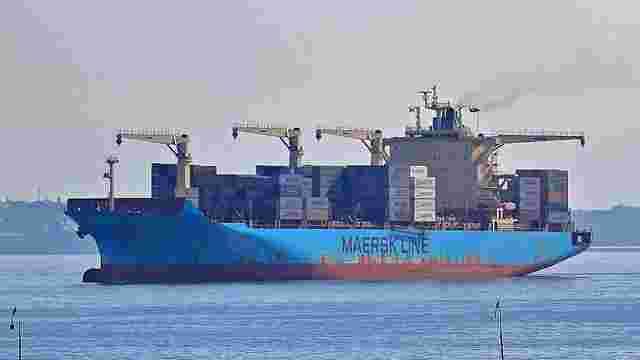 Найбільший в світі контейнерний перевізник Maersk йде з Одеського порту