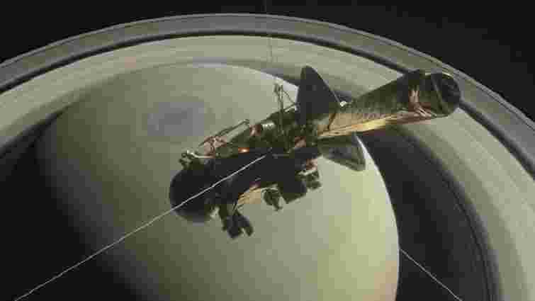 Європейське космічне агентство показало гігантський шторм на Сатурні