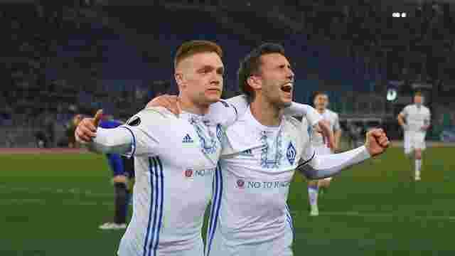 «Динамо» зіграло у результативну нічию з «Лаціо» у Лізі Європи