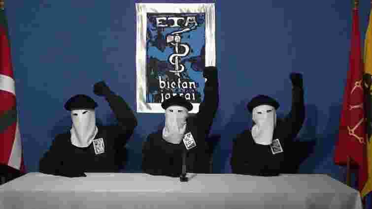 Баскське терористичне угруповання ЕТА припинило існування