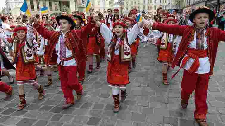 Святковий парад  з нагоди Дня Львова