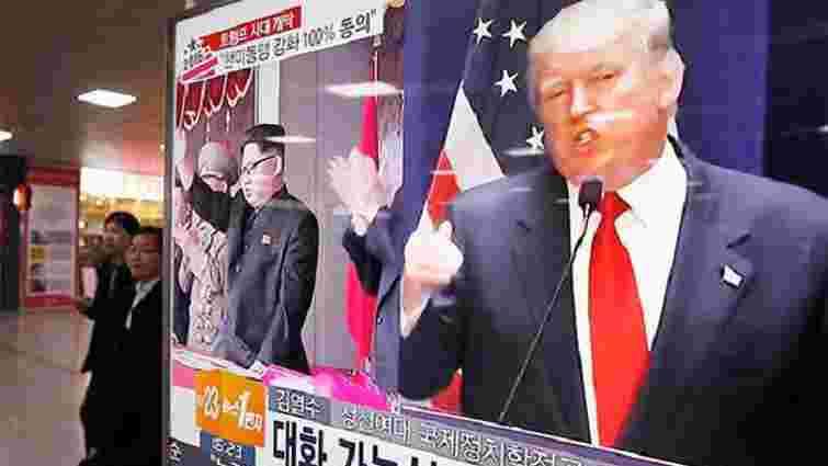 Дональд Трамп зустрінеться Кім Чен Ином у Сінгапурі 12 червня