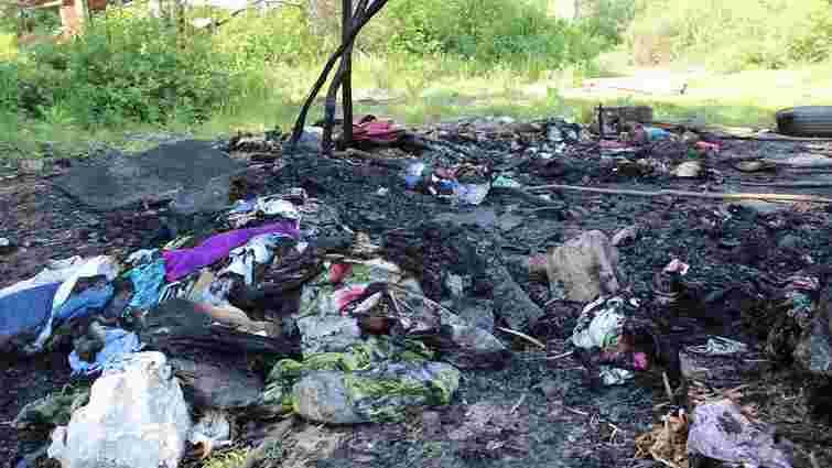 Омбудсменка заявила про підпал табору ромів під Львовом