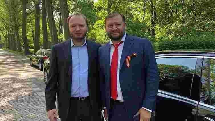 На 9 травня Добкін у Берліні носив радянський прапор і хизувався георгіївською стрічкою