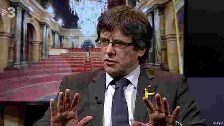 Карлес Пучдемон відмовився висуватися на посаду голови уряду Каталонії