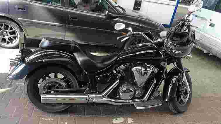 У Краковці затримали викрадений у Німеччині мотоцикл