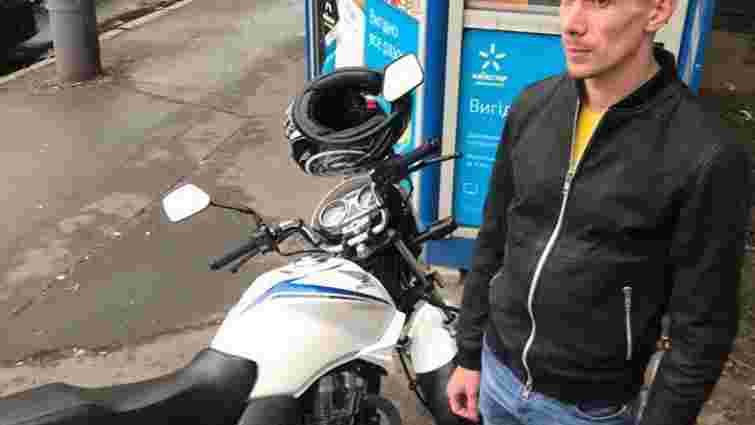 У Києві затримали чоловіка, який викрав мотоцикл брата нардепа Мустафи Найєма