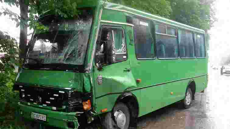 На трасі Львів-Шегині у ДТП потрапив рейсовий автобус