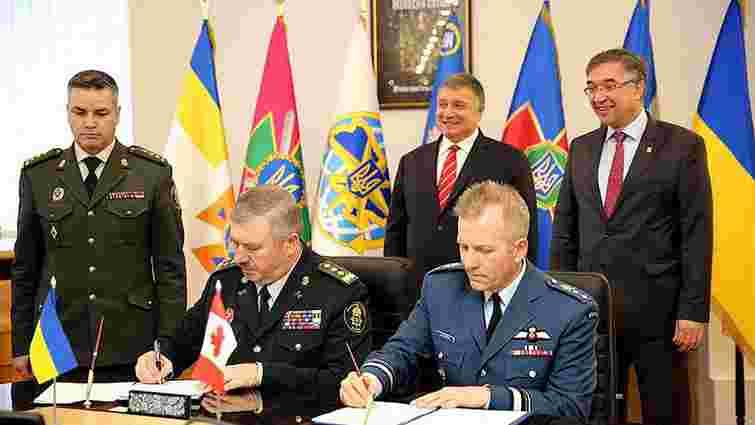 Україна і Канада уклали угоду про військову підготовку особового складу поліції