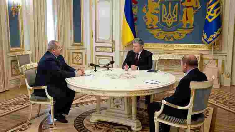 Петро Порошенко анонсував внесення до парламенту законопроекту про колаборантів в Криму