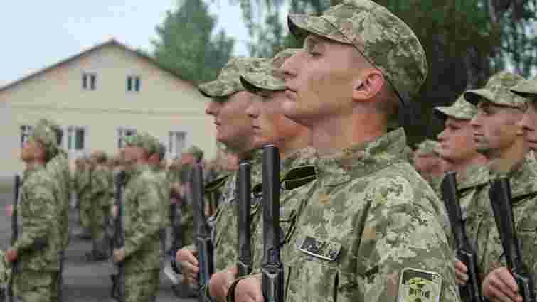 У навчальному центрі прикордонників на Львівщині склали присягу перші 190 строковиків
