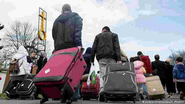 Німеччина витратить за чотири роки €78 млрд на потреби біженців