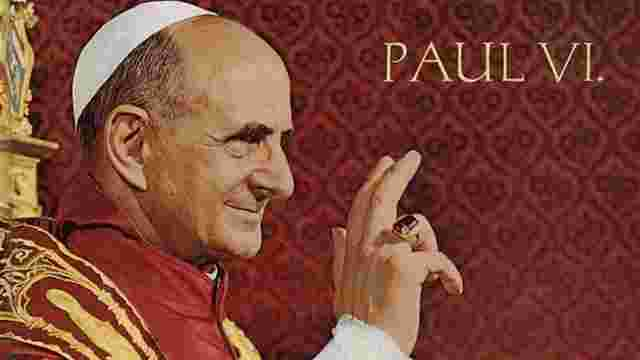 Папу Римського Павла VI канонізують 14 жовтня