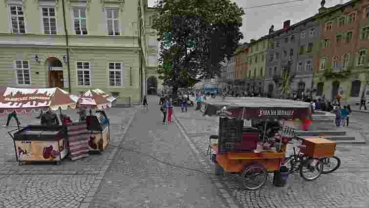 У Львові провели перші електронні аукціони на право оренди місць для продажу морозива і кави