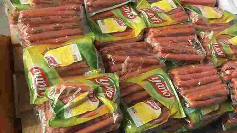У Шегинях митники вилучили в українця понад тонну незадекларованих сосисок