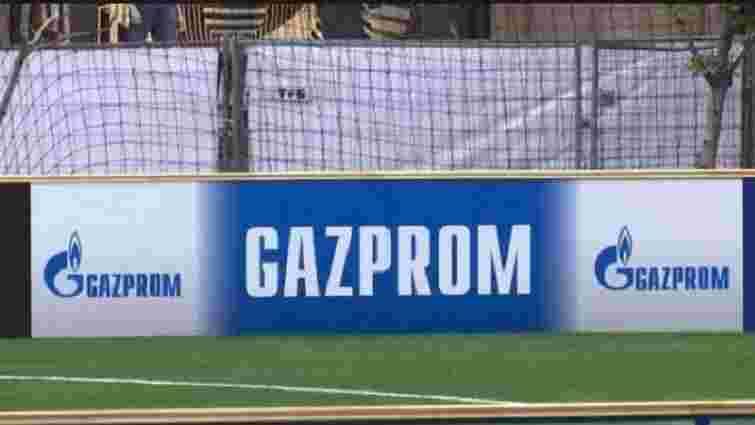 УЄФА не дозволив прибрати банери «Газпрому» з арени НСК «Олімпійський»